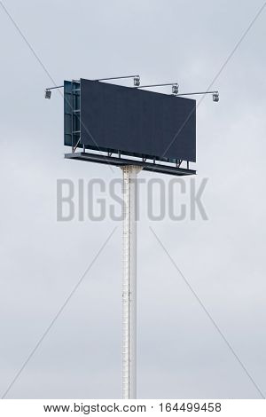 Blank hoarding billboard to place your logo or advertising on it