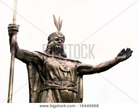Pachacutec - Inca of Peru poster