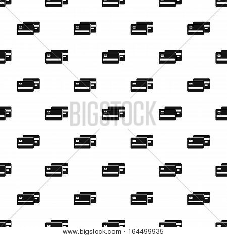Credit card pattern. Simple illustration of credit card vector pattern for web