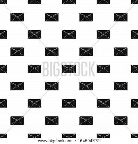 Paper letter pattern. Simple illustration of paper letter vector pattern for web
