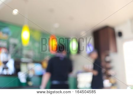 Cafe of abstract blur background for design backdrop in you work or Presentation.