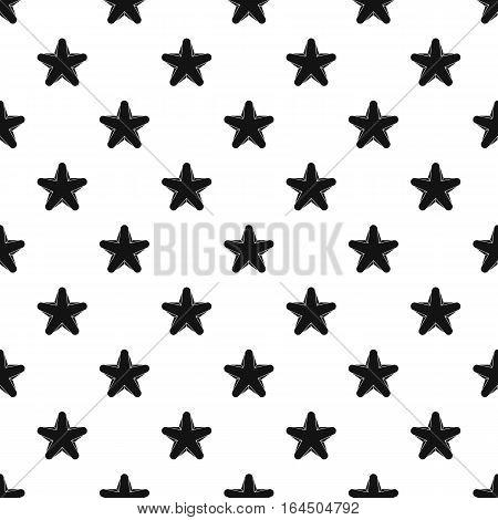Geometric figure star pattern. Simple illustration of geometric figure star vector pattern for web