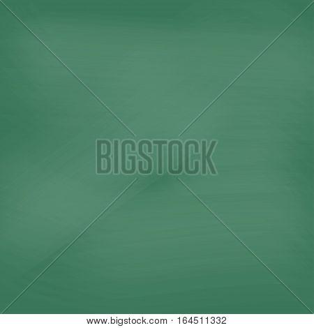School blackboard. Close up of clean school blackboard