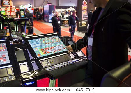 Digital Modern Roulette Table Monitor