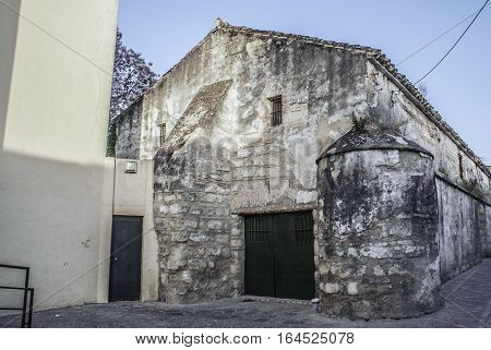 old abandoned wine factory in Spain jerez