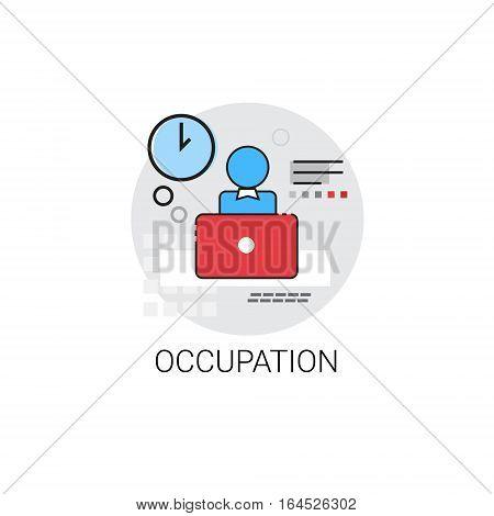 Business Occupation Work Job Icon Vector illustration