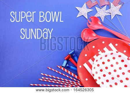 Super Bowl Sunday Bbq And Party Background