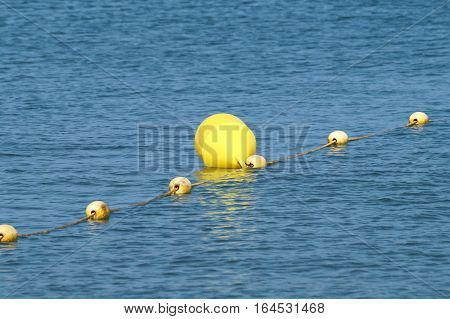 sea bobbing buoy for the safety of maritime