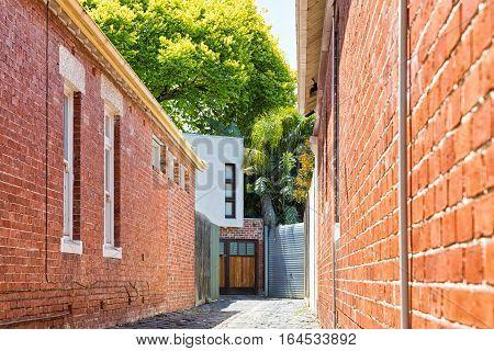 Melbourne Australia - February 2015: Contemporary House in Melbourne's favourite beachside suburb St Kilda