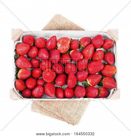 Strawberries In Crate