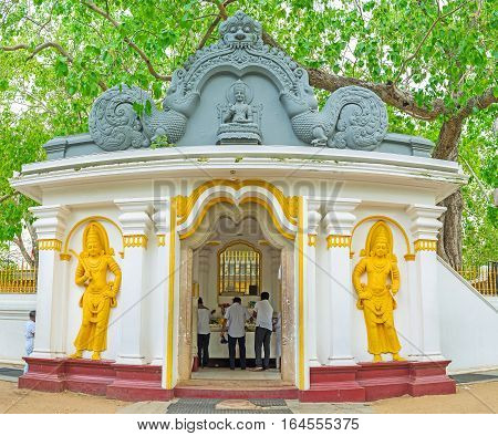 The Bodhi Tree Shrine