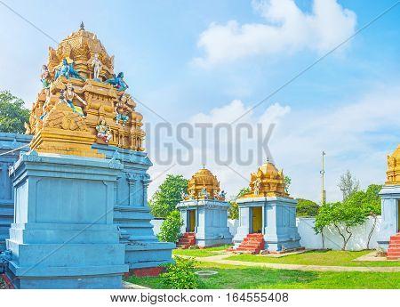 Decors Of Hindu Temple