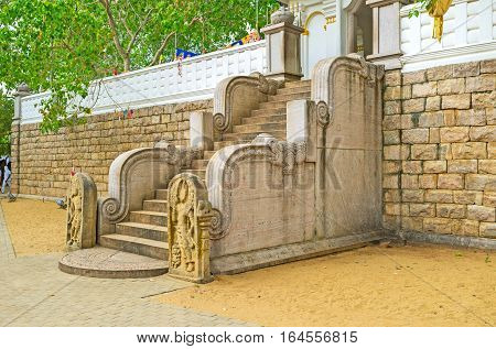 The Staircase To The Bodhi Tree
