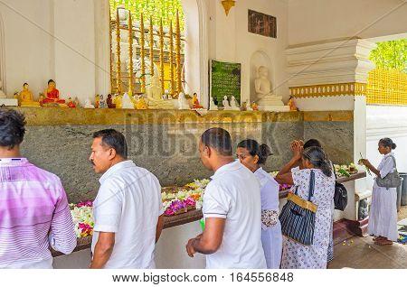 The Pilgrims In Shrine