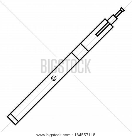 Medical syringe icon. Outline illustration of medical syringe vector icon for web