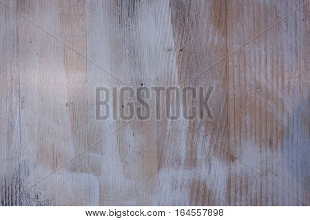 White wooden background. Abstract wood texture empty template