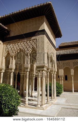 The Andalusian Gardens Of Alhambra