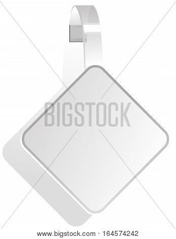 illustration - advertising White Paper wobbler .