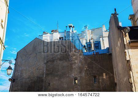 Old Buildings In Paris, France