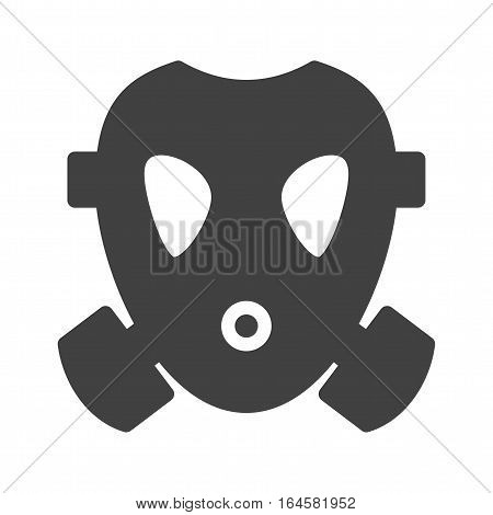 Oxygen, mask, firefighter icon vector image. Can also be used for firefighting. Suitable for use on web apps, mobile apps and print media.