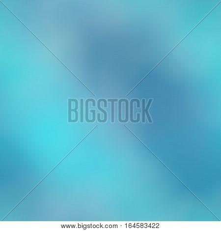 Light azure blue defocused seamless texture background