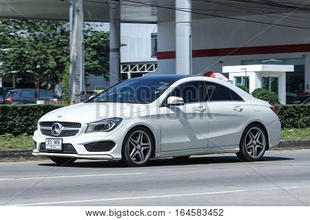 Luxury Car, White Mercedes Benz Cla 180 Untamed