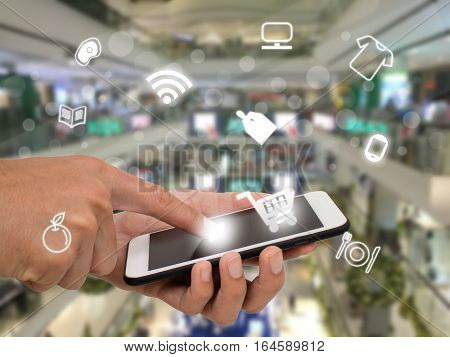 internet of things agriculture conceptsmart farmingindustrial agriculturefarmer use technology to controlmonitormanagement in the filed