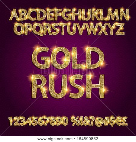 Gold Rush.  Alphabets