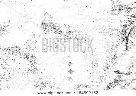 Vector grunge texture. Abstract background, old concrete wall. Overlay illustration over any design to create grungy vintage effect and depth. For posters, banners, retro and urban designs.