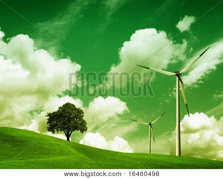 Green Ecology, Wind turbines