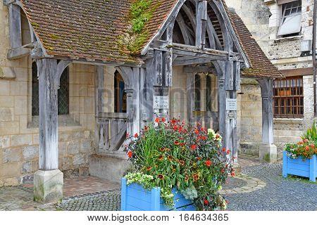 Honfleur France - august 18 2016 : the maritim museum