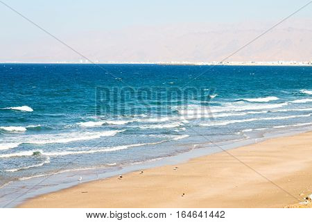 In Oman Coastline Sea Ocean