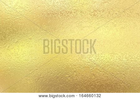 Gold foil paper decorative texture background for artworks.