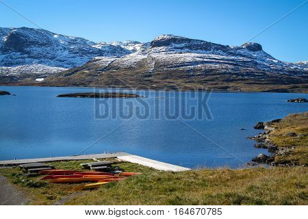 Norway Mountains And Lake