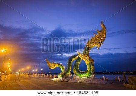 Thailand Isan Nong Khai Mekong Phayanak