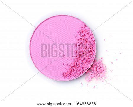 Pink Crushed Eye Shadow Or Blush Powder