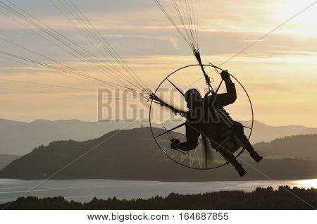 Paragliding na Slovensku - paragliding in Slovakia