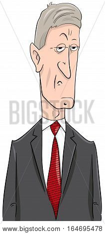 Politician Cartoon Character