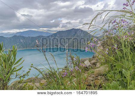 Quilotoa Lake, Latacunga Ecuador