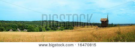 panorama in big size(windmill on field)