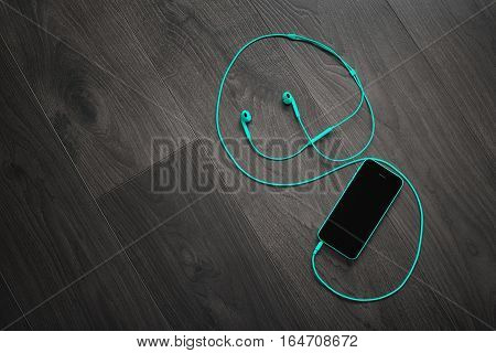 Turquoise Music Player