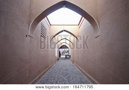Iran traditional style Gate entrance Arched style Symbol of Iran