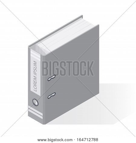 stationery folder for data archives records accounting office