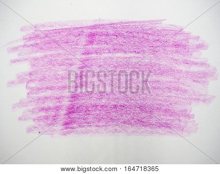 Pink color texture making from colored pencil