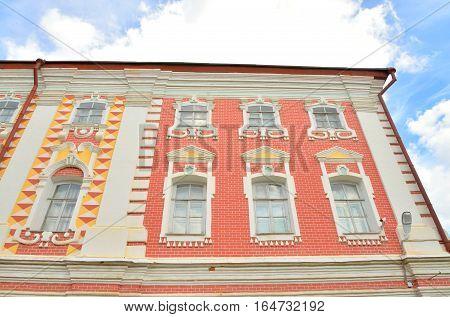 Building of Bishops yard in Vologda Kremlin Russia.