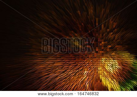 orange and brown abstract background with embossed geometric patterns