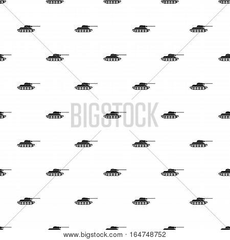 Tank pattern. Simple illustration of tank vector pattern for web