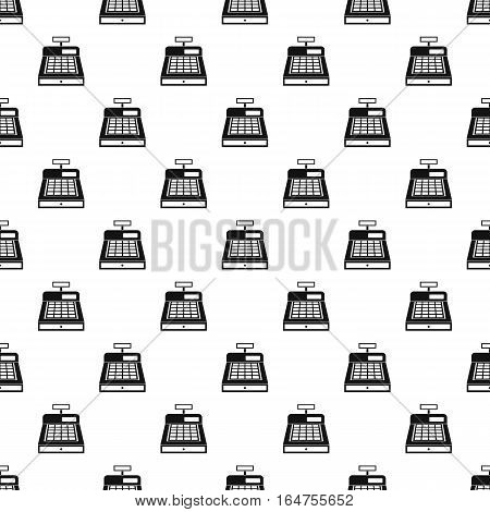 Sale cash register pattern. Simple illustration of sale cash register vector pattern for web