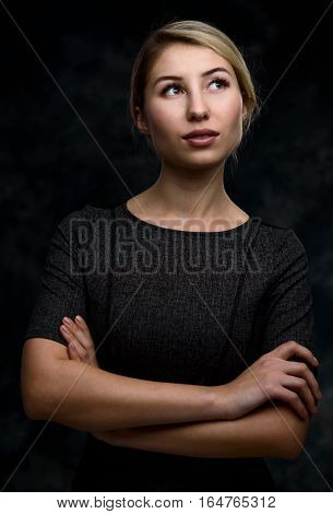Positive Thinking Beautiful Woman