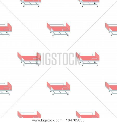 Hospital gurney icon cartoon. Single medicine icon from the big medical, healthcare cartoon. - stock vector